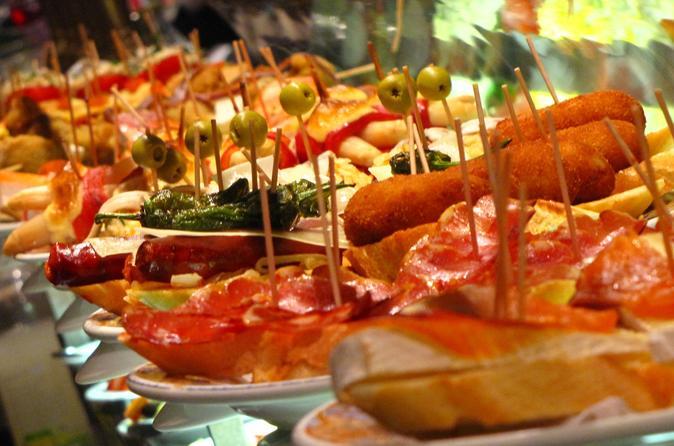 A melhor excursão de Tapas particular em Barcelona com comida e bebidas incluídas