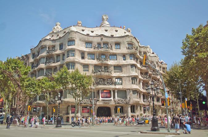 Excursão a pé particular de Gaudi com Evite as Filas para a Sagrada Família