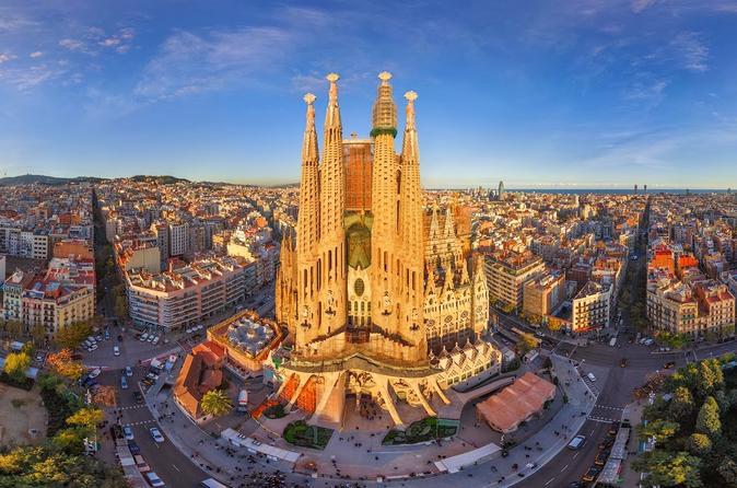 Excursão particular pelas fachadas da Sagrada Família com visita interna independente
