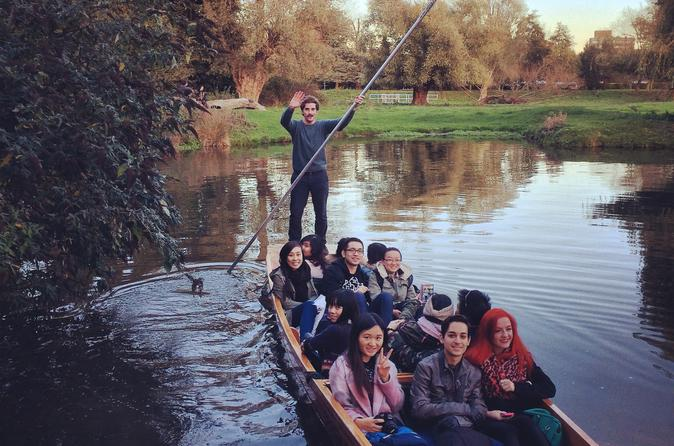 45 minute shared punting tour in cambridge in cambridge 325918