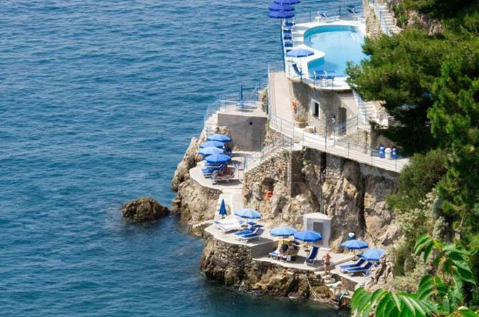 Amalfi Coast by car plus boat