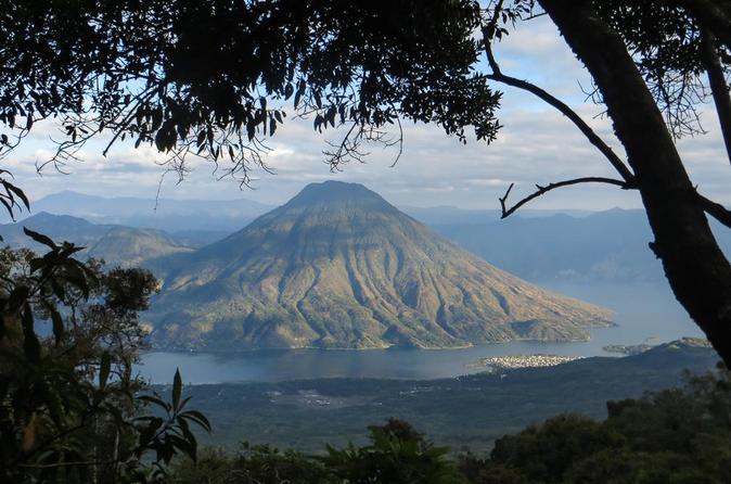 Hiking to Volcano San Pedro on Lake Atitlan