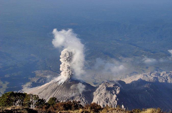 Santiaguito volcano hike in quetzaltenango 220899