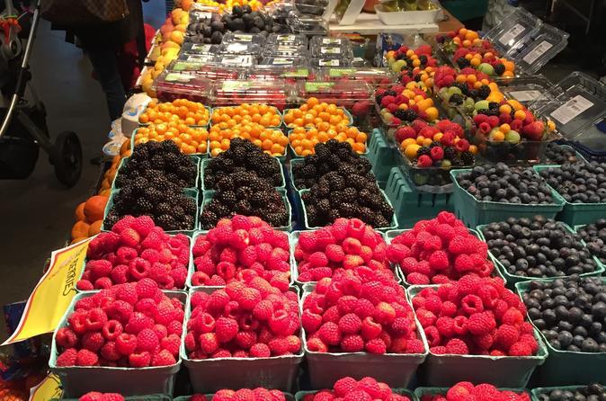 Food walking tour of granville island public market in vancouver 213348