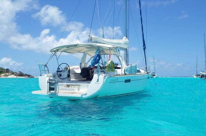 Grenada Private Full-Day Sailing Yacht Tour