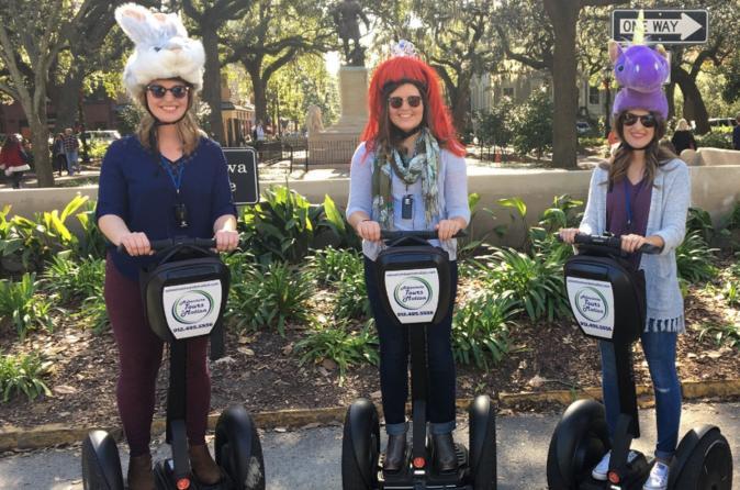 Segway Movie Tour of Savannah