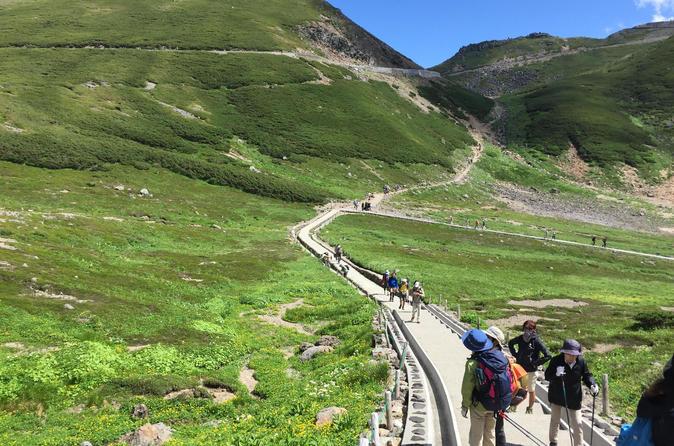 Mountain Biking or Hiking on Mt Norikura and Takayama Tour from Tokyo