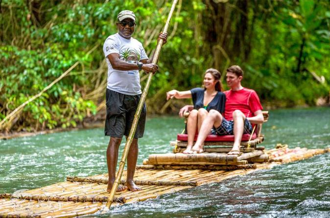 Authentic Jamaican Bamboo Rafting Tour from Montego Bay
