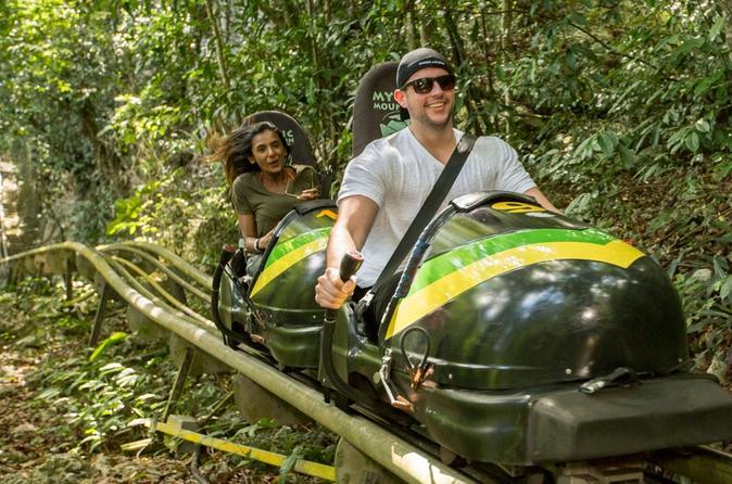 Jamaica Bobsled & Dunn's River Falls Adventure Tour From Ocho Rios