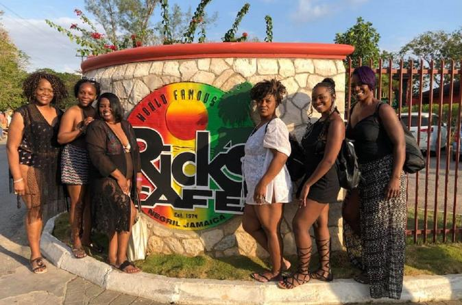 Negril Beach Experience & Rick's Cafe from Montego Bay