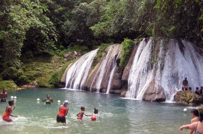 Reach Falls Adventure Tour From Port Antonio - Montego Bay