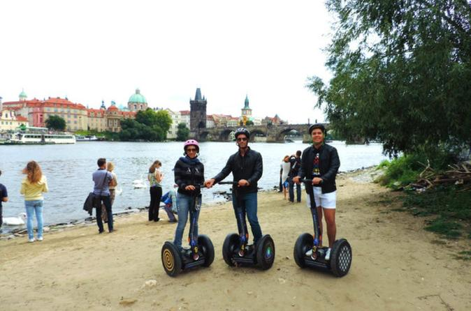 Open Group 1-Hour Segway Sightseeing Tour in Prague