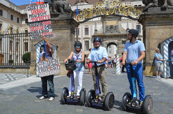 Prague's Most Iconic Attractions Segway Private Tour