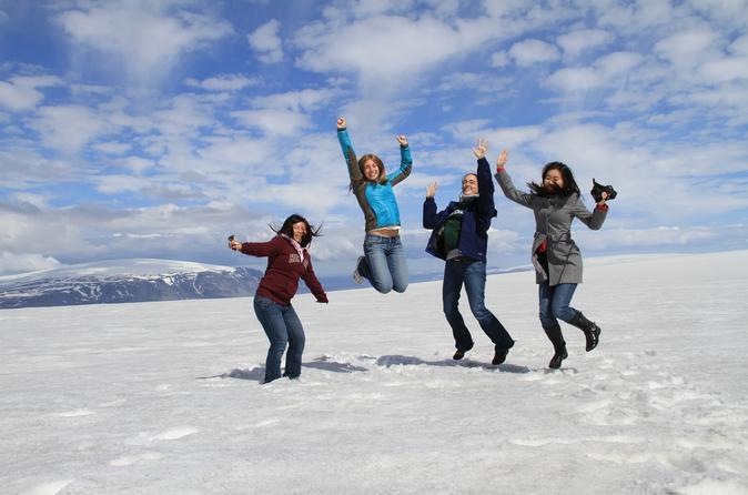 Small-Group Golden Circle Glacier Super Jeep Tour
