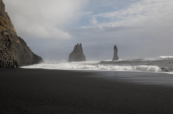 South Coast and  Eyjafjallajokull  black sand beach Guided tour  small group