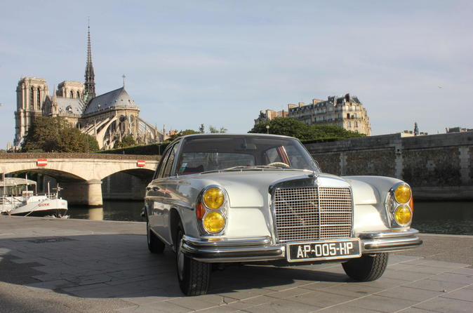 Paris Off-the-Beaten-Track Tour by Mercedes 280SE