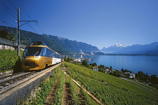 3-Day GoldenPass Line Tour from Zurich