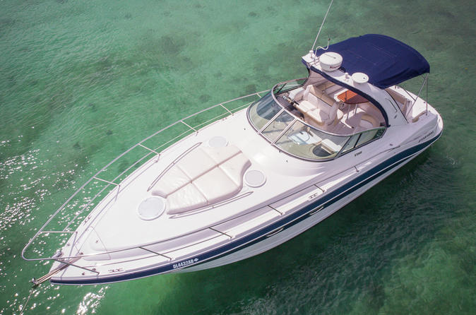 Private VIP Yacht Tour With Personal Chef To El Cielo - Playa Del Carmen
