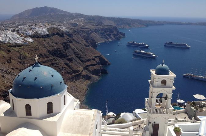 6 hour private best of santorini experience in thera 272440