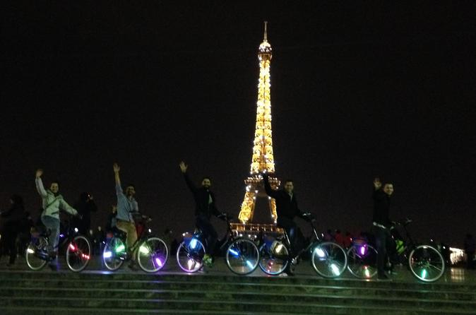 Paris by Night: City of Lights Bike Tour