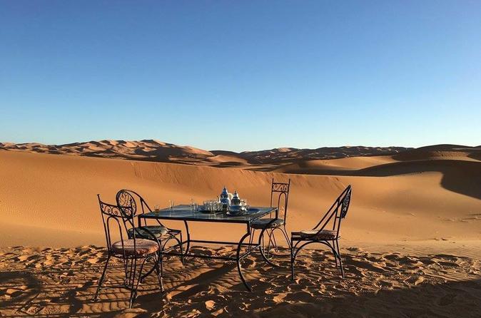 Excursão particular: excursão de Fez a Marraquesh em 3 dias no deserto do Saara