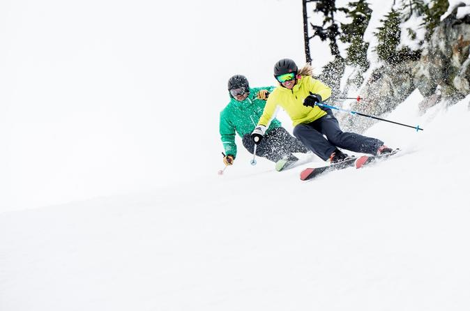 Intermediate Ski Rental Package for Snowbasin and Powder Mountain