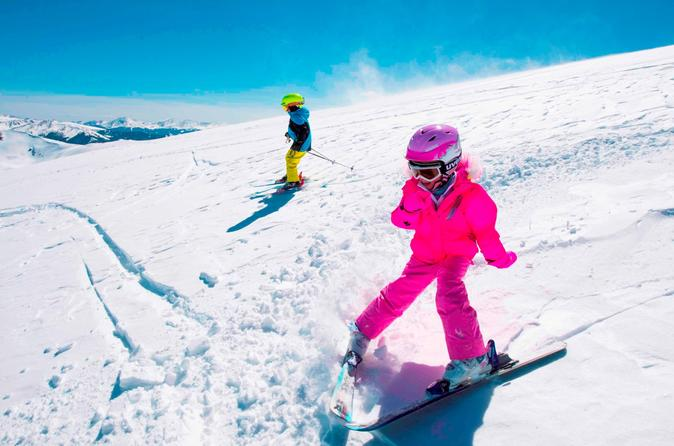 Junior Ski Rental Package for Snowbasin and Powder Mountain