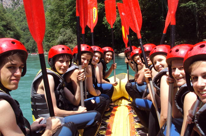 Rafting on tara river from zabljak in abljak 219637