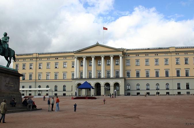 Excursão a pé dos destaques da cidade de Oslo