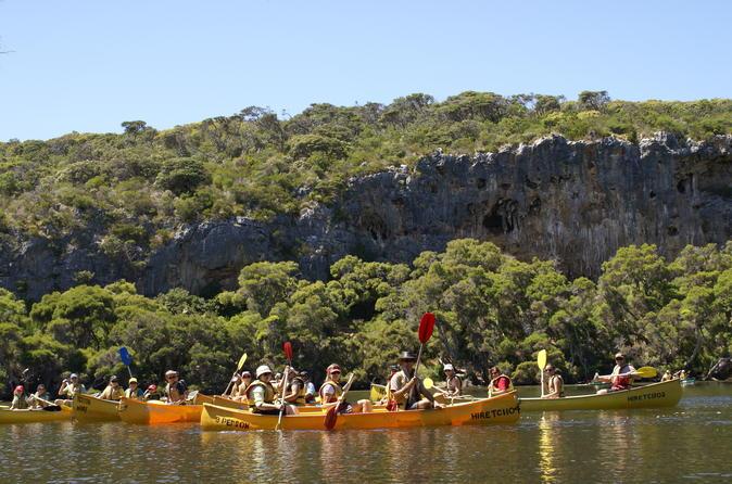 Margaret river canoe tour including lunch in margaret river 308168