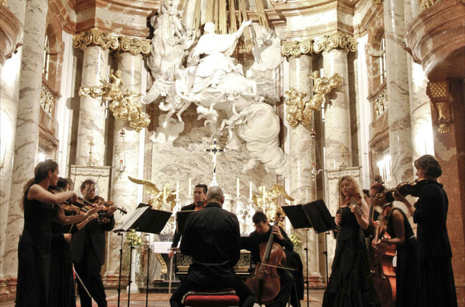 Vivaldi Four Seasons Concert at St. Charles Church in Vienna