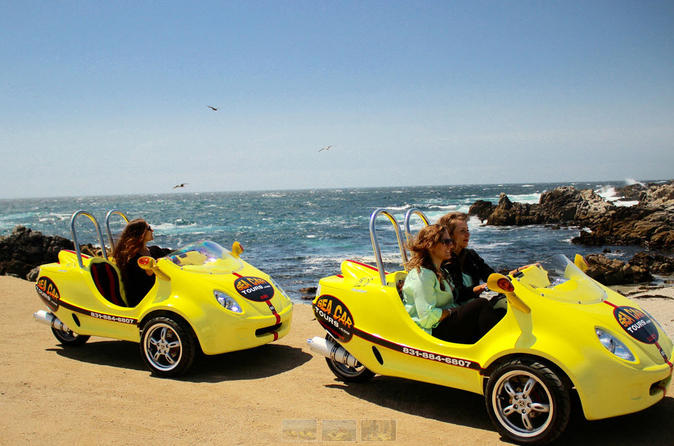 1-Hour Monterey and Cannery Row Sea Car Tour