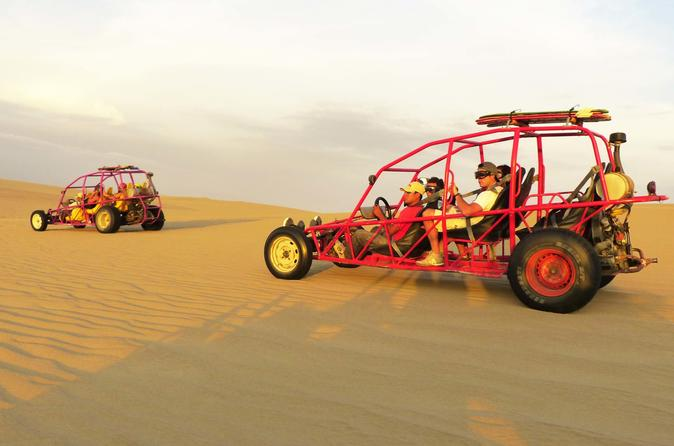 Ballestas and Huacachina Islands with sandboarding practice