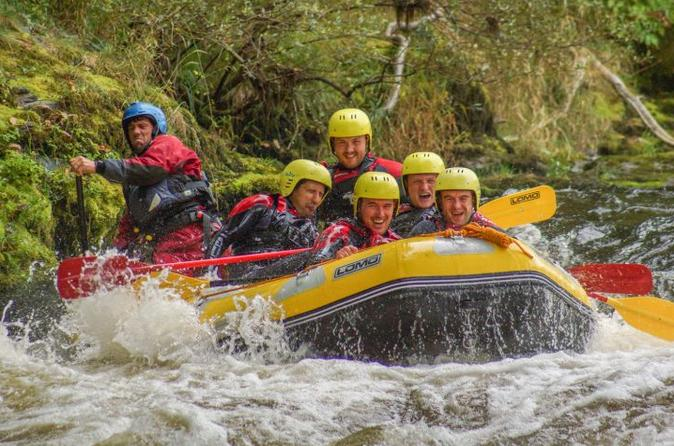 White water rafting in llangollen in llangollen 208804