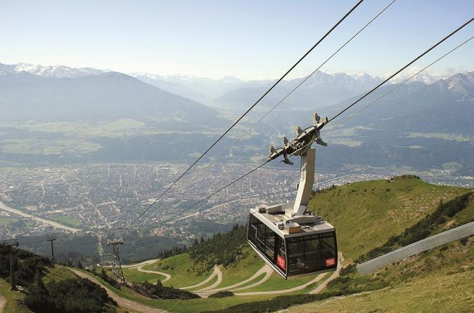 Cable car round trip from innsbruck to hafelekar in innsbruck 212247