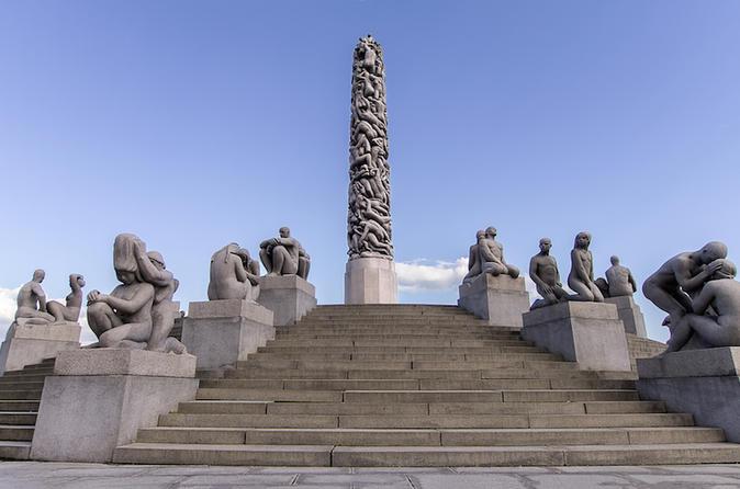 Excursão costeira: destaques de Oslo com Museu do Navio Viking e Parque Vigeland