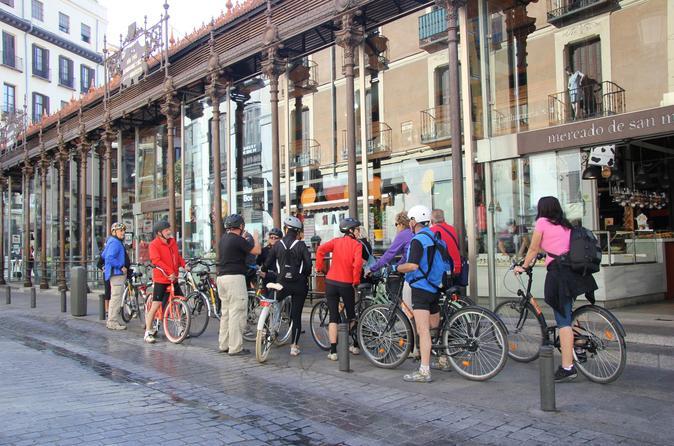 3 hour best of madrid bike tour in madrid 240764
