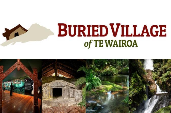 Buried Village of Te Wairoa Tour