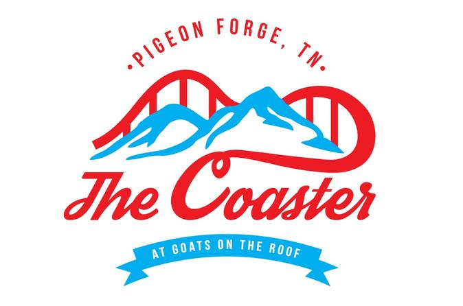 Pigeon forge the coaster at goats on the roof in pigeon forge 209733