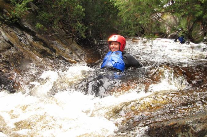 Half day cradle mountain canyoning lost world canyon in cradle mountain 351133