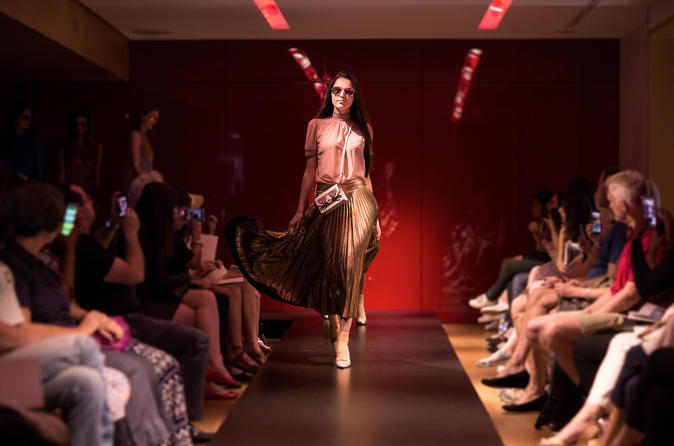 Fashion Show at Galeries Lafayette