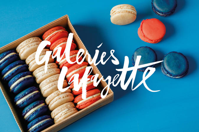 French Macaron Bakery Class at Galeries Lafayette