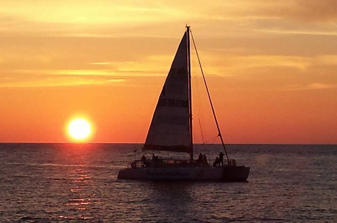 2 hour sunset catamaran sail in panama city beach 220918