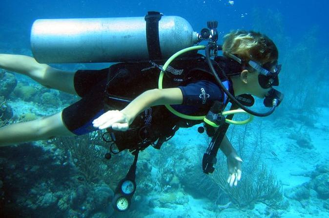 PADI 3-Day Open Water Dive Course in Playa del Carmen
