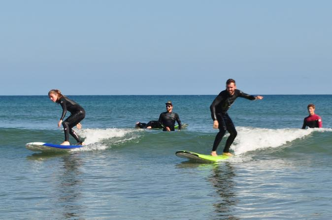 Group Surf Lesson in Santa Barbara