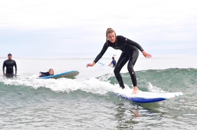 Private Surf Lesson in Santa Barbara