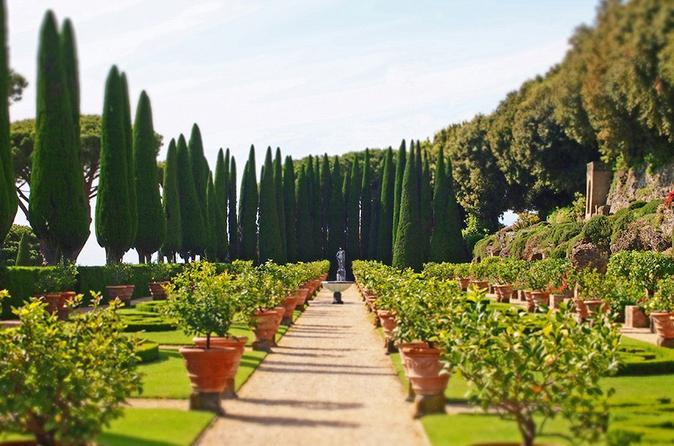 Guided Visit of Barberini Gardens at Castel Gandolfo