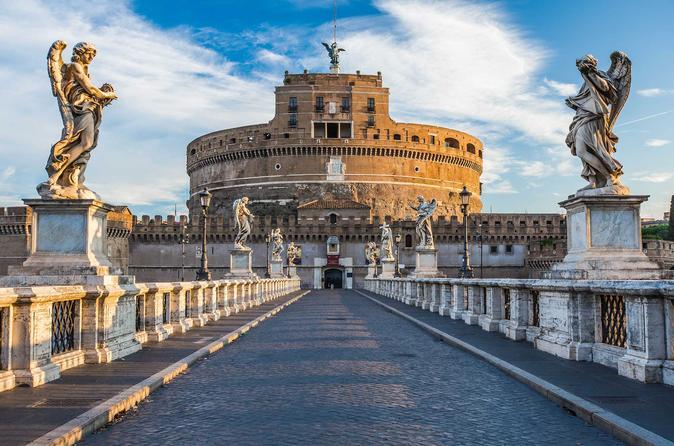 Ingresso do Museu Nacional do Castelo de Sant'Angelo em Roma