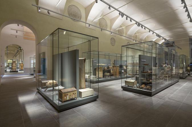 Ingresso de entrada do Museu Egípcio de Turim incluindo exibições especiais