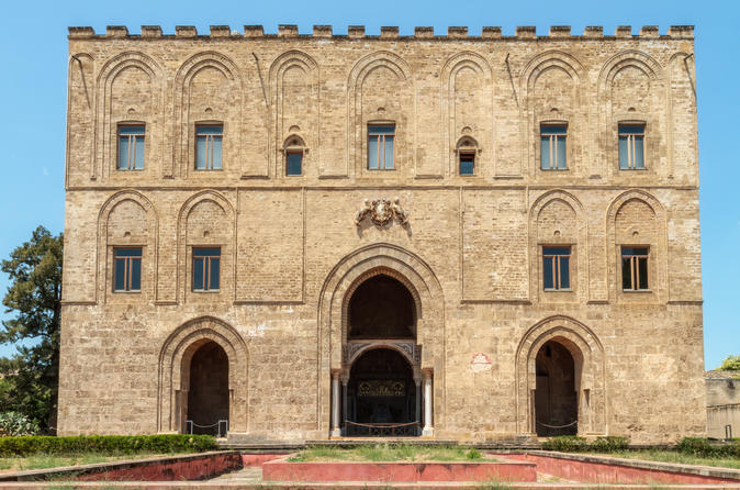 Zisa Palace Palermo Entrance Ticket